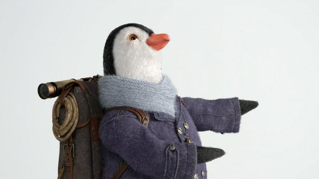 wilbur british gas penguin teddy